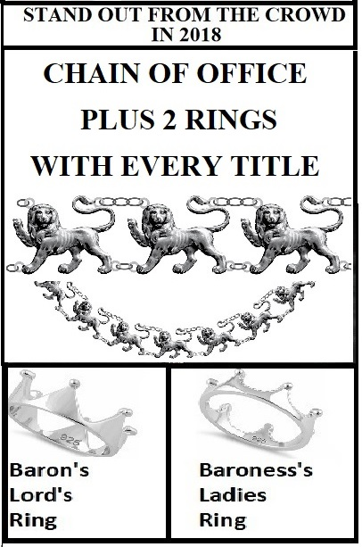 Lordship Chain of Office & Rings