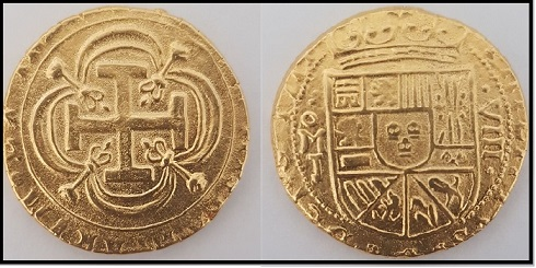 Doubloon Gold Cob