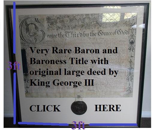 Rare Barony