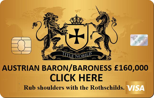 Austrian barony for sale