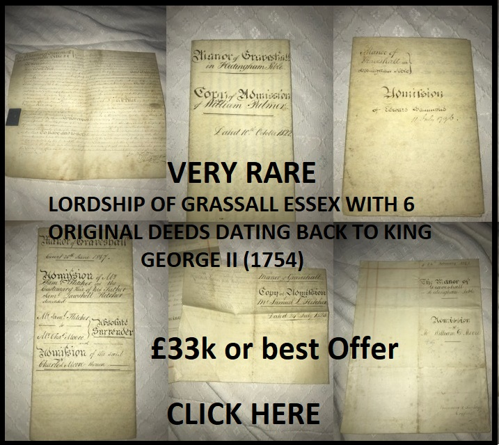 Rare Lordship for Sale