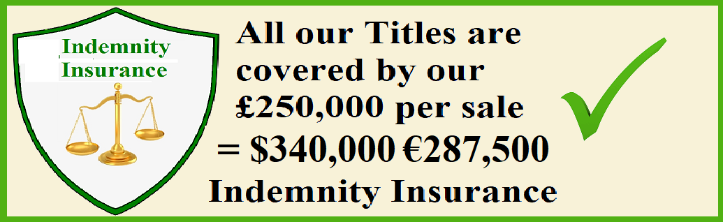 Only Company with Title Insurance