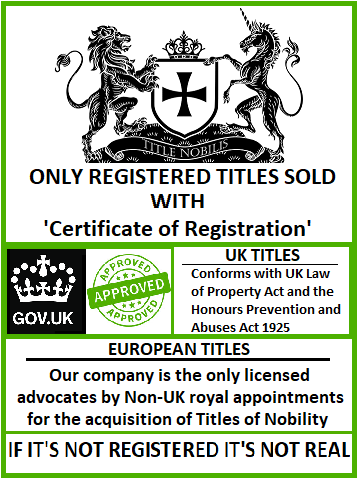 Registered Titles only
