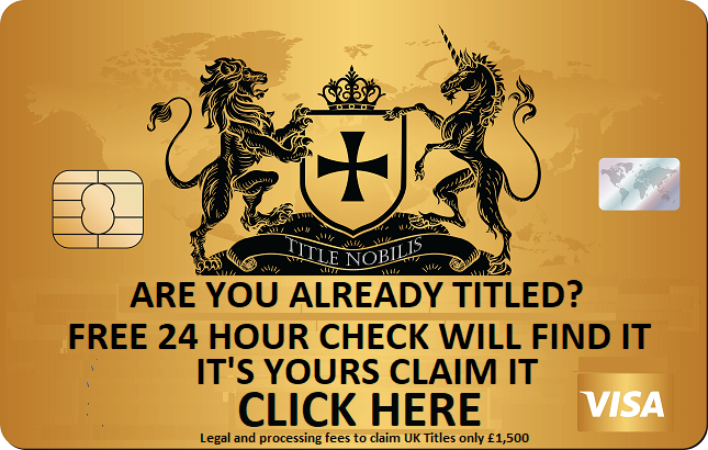 CLAIM YOUR FAMILY TITLE