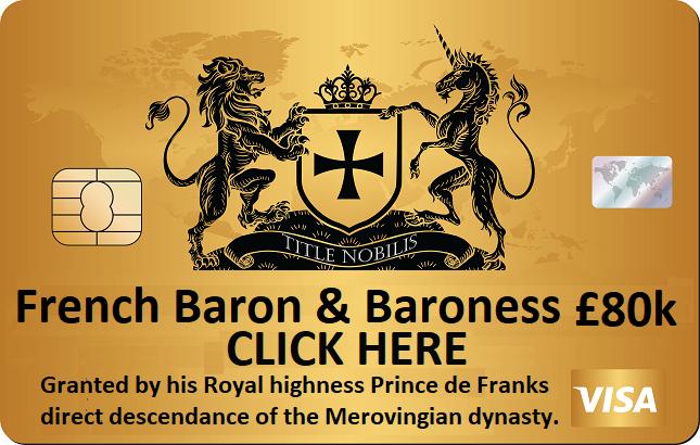 Baron & Baroness for sale